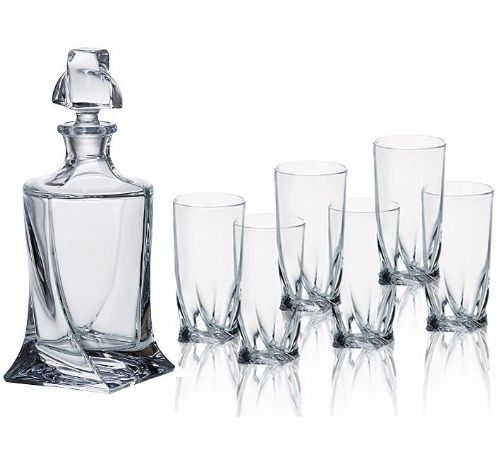 Decanter 500ml & 6 Shot Glasses Set